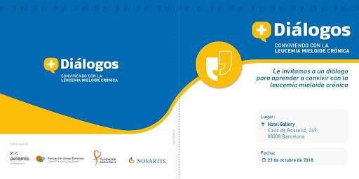 Diálogos Novartis sobre la Leucemia Mieloide Crónica en Barcelona