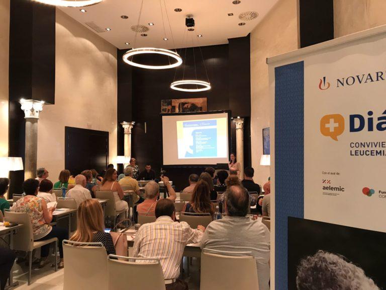 Aelemic vuelve a avalar otro año más las charlas +Diálogos de Novartis sobre la Leucemia Mieloide Crónica