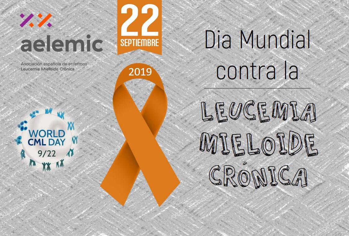 Día Mundial Leucemia Mieloide Crónica.