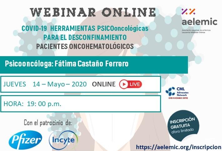 «Covid-19 Herramientas psicooncológicas para el desconfinamiento».