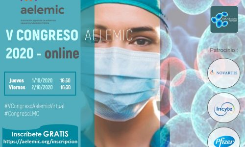 «V Congreso Nacional Enfermos Leucemia Mieloide Crónica. Aelemic 2020 Online».