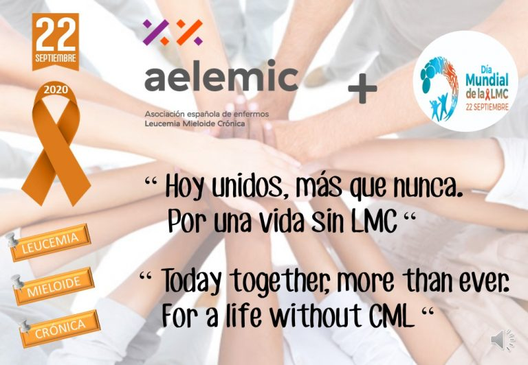 AELEMIC 22/9 DÍA INTERNACIONAL DE LA LEUCEMIA MIELOIDE CRÓNICA.