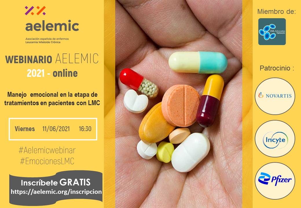 Webinar Aelemic «Manejo emocional en la etapa de tratamiento en pacientes de LMC»