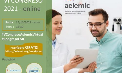 «VI Congreso Nacional Enfermos Leucemia Mieloide Crónica. Aelemic 2021 Online».